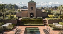 Enchanting Travels Morocco Tours Marrakech Hotels Selman Marrakech Atlas view