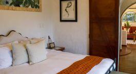 Schlafzimmer der Finca Rosa Blanca in San José, Costa Rica