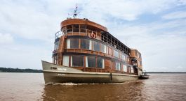 Enchanting Travels Peru Tours Iquitos Cruises Delfin II Amazon Cruise Ship