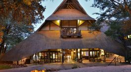 Enchanting Travels Zimbabwe Tours Victoria Falls Safari Lodge Victoria Falls Safari Lodge entrance