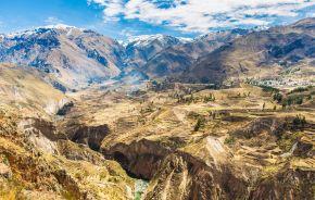Colca Canyon, Peru,South America
