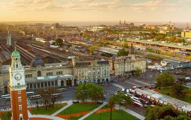 Bahnhof Retiro in der argentinischen Hauptstadt Buenos Aires
