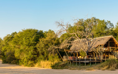 Exterior view of Rhino Post Safari Lodge, Kruger in South Africa
