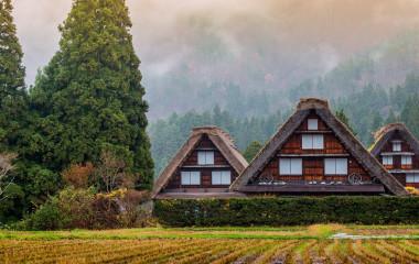 Enchanting Travels Japan Tours Traditional and Historical Japanese village Shirakawago in autumn season