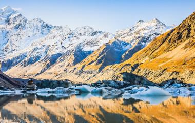 Enchanting Travels New Zealand Tours Aoraki Mount Cook National Park, New Zealand