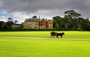 Muckross House and gardens in National Park Killarney, Ireland, Europe