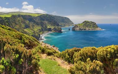 Northern Coast at Flores near Ponta Delgada