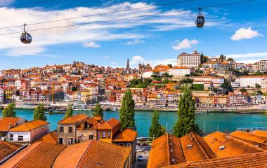 Portugal, Altstadt von Porto am Fluss Douro