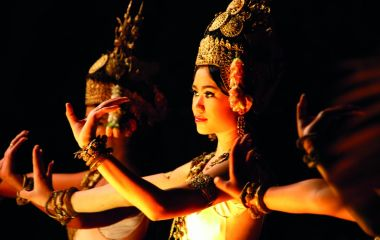 Girls dressed like Apsara, Thailand