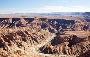 Trockenzeit im Fish River Canyon