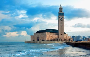 Enchanting Travels Morocco Tours Hassan II Mosque in Casablanca