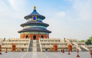 Enchanting Travels China Tours Temple of Heaven landmark of Beijing city, China
