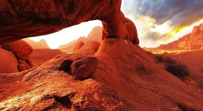 Explore haunting landscapes on your Namibia tours with Enchanting Travels
