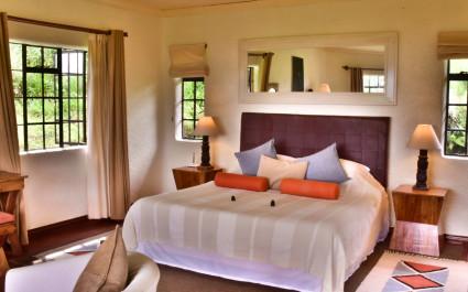 Zimmer im Sabyinyo Silverback Lodge Hotel in Ruanda, Volcanoes Nationalpark