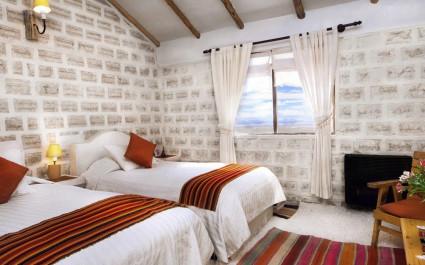 Zimmer im Hotel de Sal Luna Salada, Uyuni, Bolivien