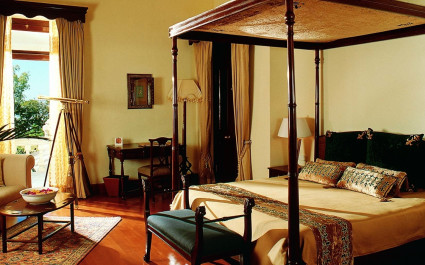 The Vice Regal Suite at Ananda Spa in Rishikesh, The Himalayas