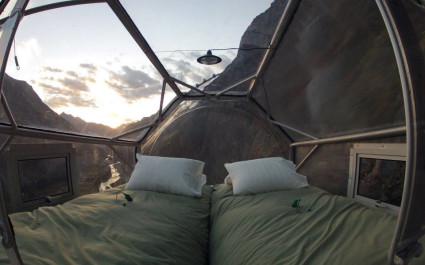 Innenansicht von Skylodge Adventure Suites, Heiliges Tal, Peru