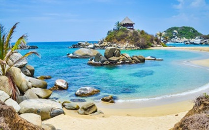Enchanting Travels Colombia Tours tayroa beach