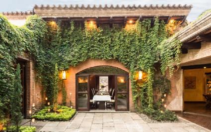 Eingangsbereich von  von El Convento Boutique Hotel
