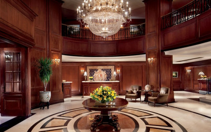 Lobby im Hotel Ritz Carlton, Santiago, Chile