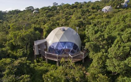 Außenansicht im Hotel The Highlands, Tansania
