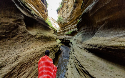 Hell's Gate gorge