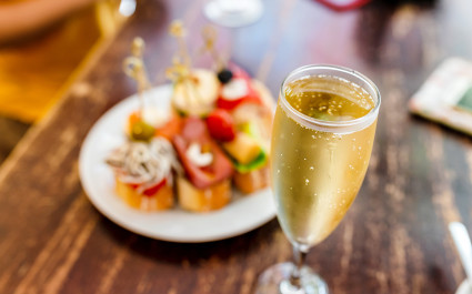 Cava - Similar to French Champagne or Italian Prosecco, Cava is a fizzy wine made from Macabeu, Parellada and Xarello grapes grown in Catalonia. - Spanish cuisine