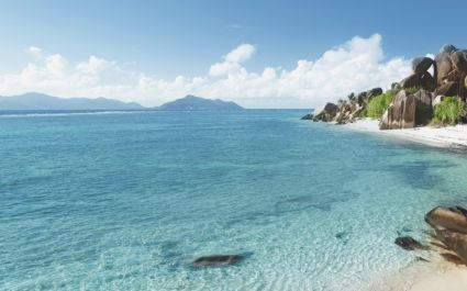 Visit Source d'Argent, La Digue Island, Seychelles, on your summer trip