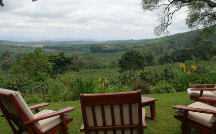Valley views at Gibb's Farm, Lake Manyara & Ngorongoro Crater, Tanzania