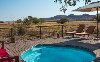 Desert Rhino Camp in Damaraland