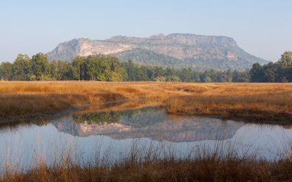 Bandhavgarh Hill in Bandhavgarh Tiger Reserve, Madhya Pradesh