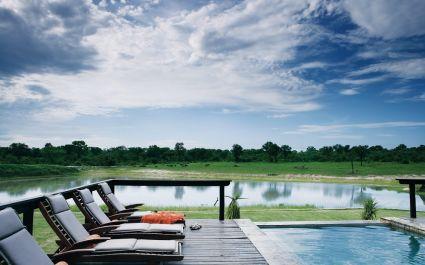 Swimming pool Arathusa Safari Lodge in Kruger, South Africa