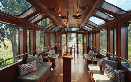 Belmond Hiram Bingham Train
