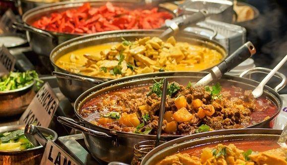 Streeetfood Indien