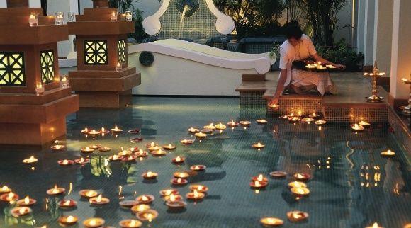 Kerzen überall: Eines der wichtigsten Feste in Indien