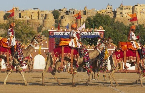Erleben Sie auf Ihrer Indien Reise das Jaisalmer Wüstenfest 2018