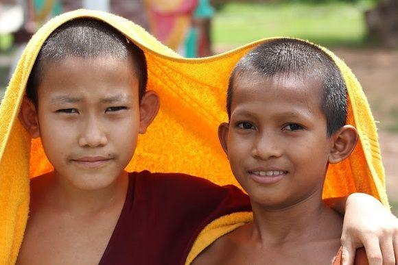 Begegnen Sie jungen Buddhisten auf Ihrer Kambodscha Studienreise