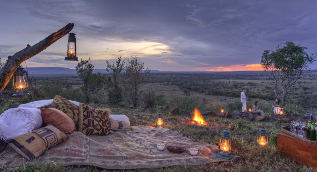 Enchanting Travels Kenia Tours Laikipia Hotels Kicheche Laikipia Camp draußen