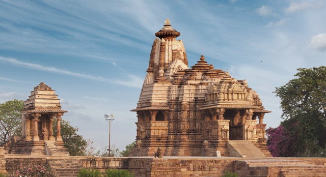 Khajuraho temples are exciting sculptures to see