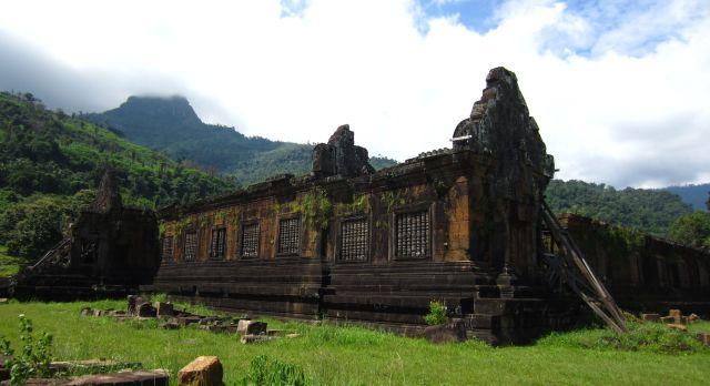 Laos Sehenswürdigkeiten Wat Phu Tempel