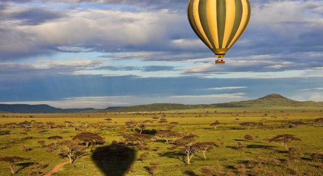 Ballon Safari in Tansania