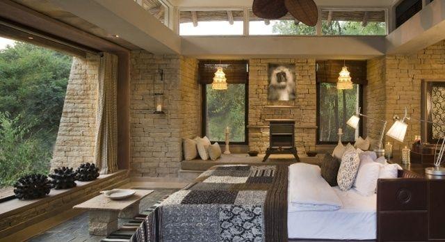 Innenansicht eines luxuriösen Hotelzimmers