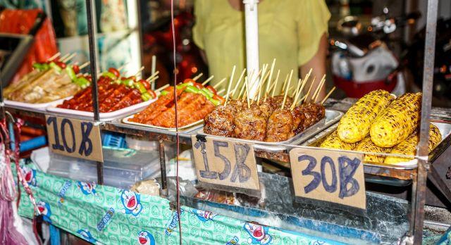 Street Food Stand in Bangkok