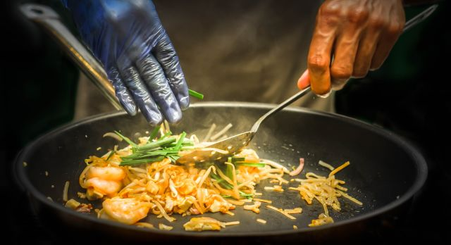 Southeast Asian street food: Thai-style-pad-thai-noodles