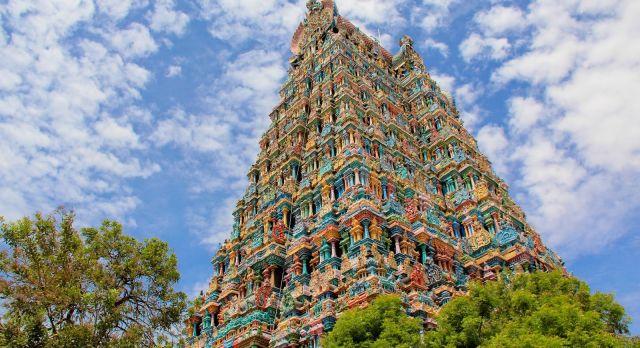 Visit the Meenakshi Temple in Madurai, South India