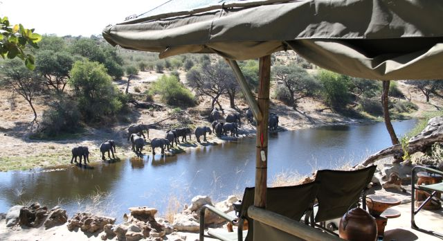 Luxury African safari at Meno A Kwena