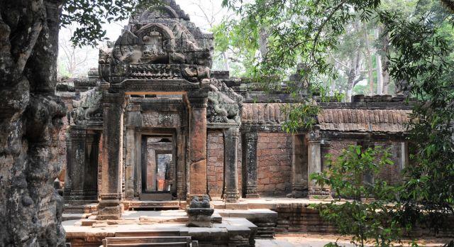 Tempel Angkor Wat in Siem Reap