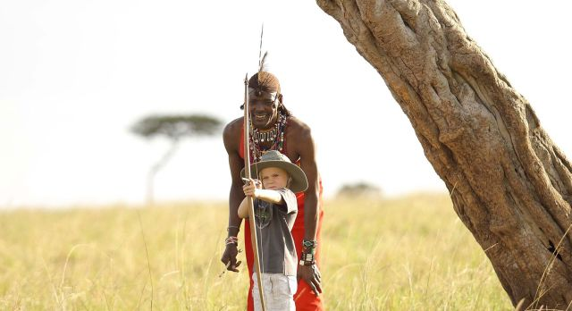 Kid-friendly activities at the Kichwa Tembo Tented Camp
