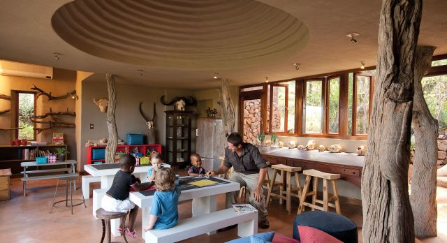 Kid friendly activities at the Madikwe Safari Lodge