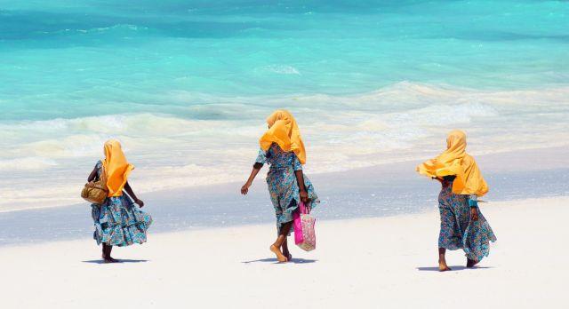 Stone Town beach in Zanzibar